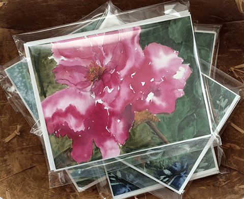 Floral Art Cards Package