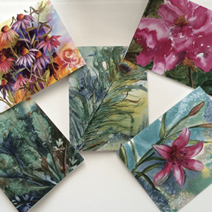 Floral Card Selection