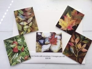 Fall Motif Cards