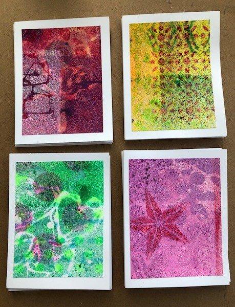 Artscape Studio Kathy Grundei Stencil Cards